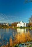 zbudować klasycznego lukrowego jeziora widok Obrazy Royalty Free
