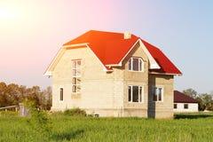 zbudować nowy dom Zdjęcia Stock
