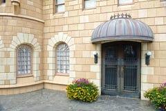 zbudował zamek drzwi jak Zdjęcia Royalty Free