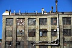 zbudowane na pukanie przemysłowego robi nowej starej pokoju coś ruinie Fotografia Stock