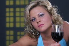 Zbyt dużo alkoholu? zdjęcie stock