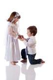 Zbyt potomstwa poślubiać Zdjęcia Stock