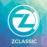 Zclassic ZCL vector logo. A privacy and selective transparency of money transactions and crypto currency. Stock Photo