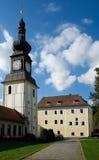 Zdar nad Sazavou,捷克共和国 免版税库存照片