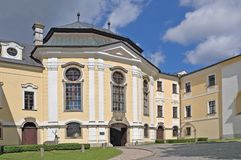 城堡Zdar nad Sazavou,捷克共和国 免版税图库摄影