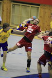 Zdenek Polasek - handball Foto de Stock Royalty Free