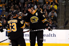 Zdeno Chara and Brad Marchand Stock Images