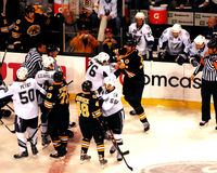 Zdeno Chara Fight Royalty Free Stock Photos