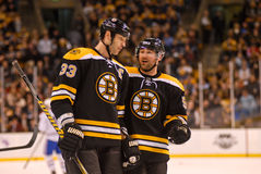 Zdeno Chara and Johnny Boychuk Stock Photography