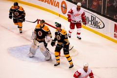 Zdeno Chara and Tuukka Rask Royalty Free Stock Photos