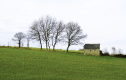 Zdewastowany krajobraz blisko Tarbes Obraz Royalty Free