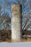 Zdewastowany silos Fotografia Stock