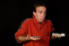 zdezorientowany człowiek Zdjęcie Stock