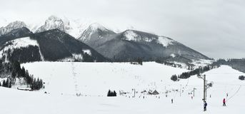 Zdiar skiing resort stock photography