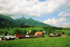Zdiar - Tatras elevado Imagens de Stock