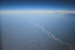 zdjęcie powietrznej tło Fotografia Royalty Free