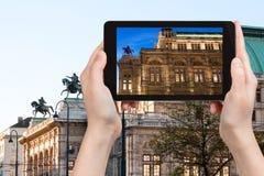 Zdjęcie stan opera w Wiedeń Zdjęcia Stock
