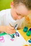 zdjęcie dziecka rysunku, Obrazy Stock