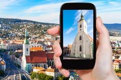 Zdjęcie St Martin katedra w Bratislava Zdjęcie Stock