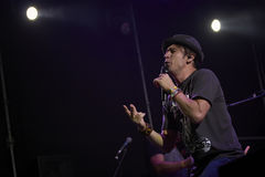 Zdob si Zdubat avtalar solo på den Zaxidfest festivalen arkivbild