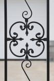 Zdobny żelaza ogrodzenie Obrazy Royalty Free