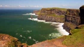zdobycza falez Ireland moher Zdjęcie Royalty Free