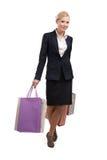 zdojest biznesowych zakupy kobiety potomstwa Fotografia Royalty Free