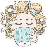 zdojest dziewczyna kawowych latynosów Fotografia Stock
