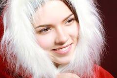 zdojest Santa kobiety Obraz Royalty Free