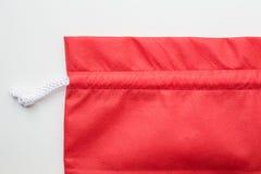 zdojest sukienną czerwień Fotografia Royalty Free