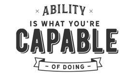 Zdolność jest czym ty ` ponowny sposobny robić ilustracji
