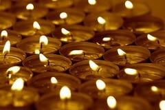 Zdrój świeczki Obrazy Royalty Free