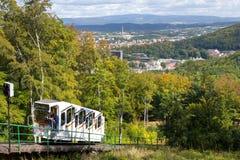 Zdrój grodzki Karlovy Zmienia, republika czech, Europa Fotografia Stock