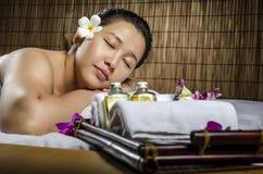 Zdrój i masaż Zdjęcie Stock