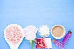 Zdrój i naturalny kosmetyka pojęcie obrazy stock