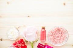Zdrój i naturalny kosmetyka pojęcie obrazy royalty free