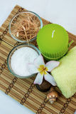Zdrój i tajlandzki masaż Zdjęcie Royalty Free