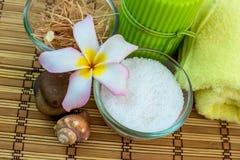 Zdrój i tajlandzki masaż Zdjęcia Stock