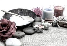 Zdrój i tajlandzki masaż Zdjęcie Stock