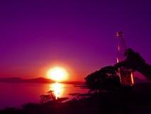 zdrówko zachodzącego słońca Zdjęcia Stock