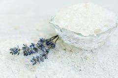 Zdrój, Perfumowa morze sól, Selekcyjna ostrość Zdjęcie Royalty Free