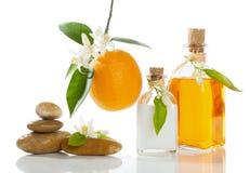 Pomarańczowy zdrój Obrazy Stock