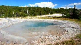 Zdroju gejzer Yellowstone zdjęcie wideo