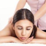 Zdroju masaż Obraz Stock