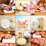 Zdroju massaga. Zdjęcia Royalty Free