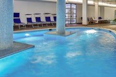 Zdroju Pływacki basen Fotografia Stock