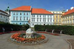 Zdroju park w Teplice obrazy stock