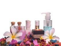 Zdroju skład, zdrowie i piękno, zdjęcie stock