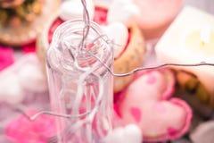 Zdroju składu walentynek dnia miłości ciała kierowi zdrowie Zdjęcia Royalty Free