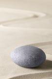 Zdroju wellness relaksu tło z piaskiem i kamieniami Obrazy Stock
